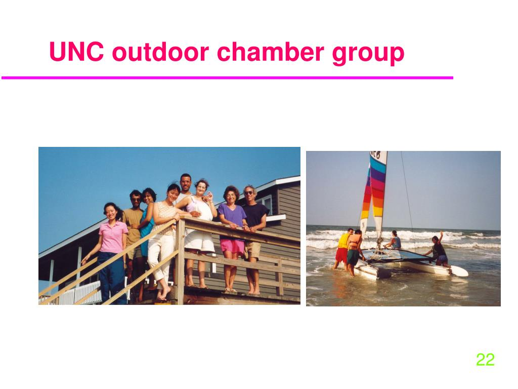 UNC outdoor chamber group