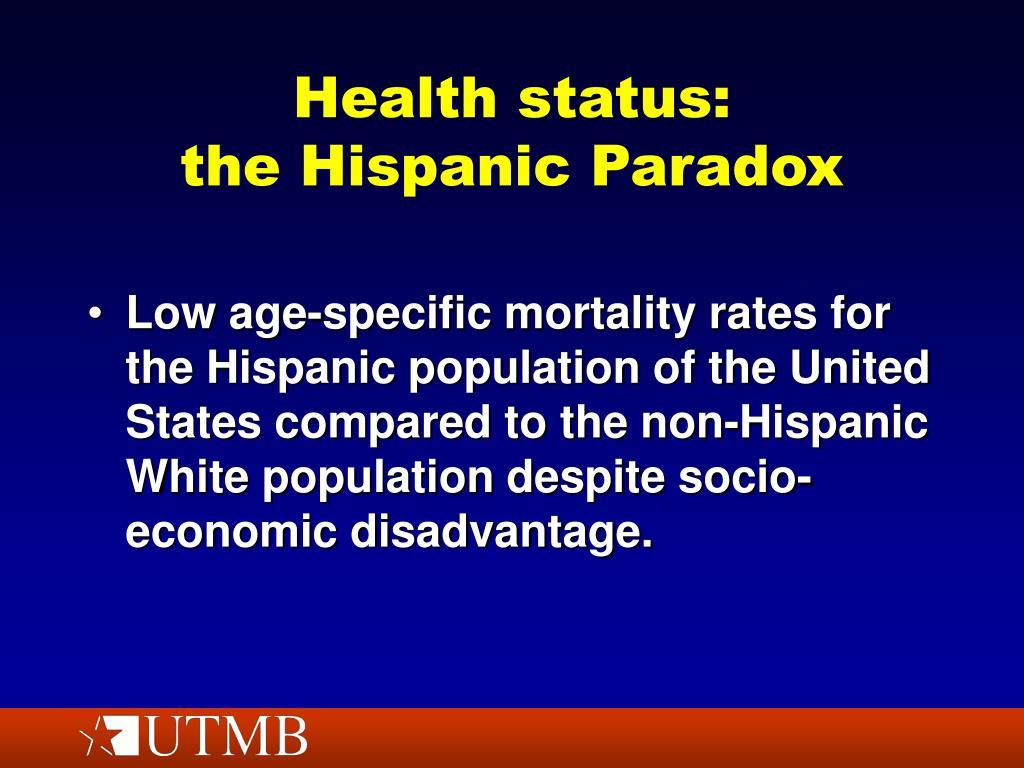 Health status: