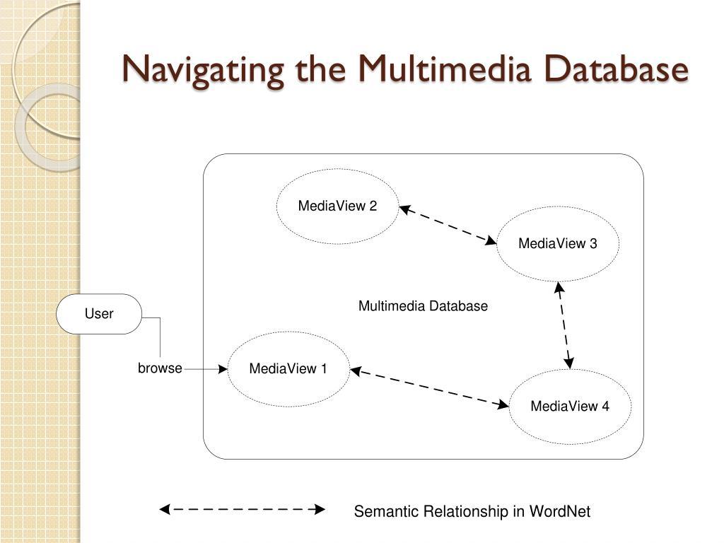 Navigating the Multimedia Database