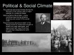 political social climate