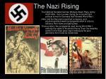 the nazi rising