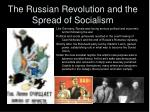 the russian revolution and the spread of socialism