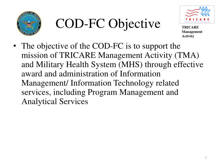 Cod fc objective