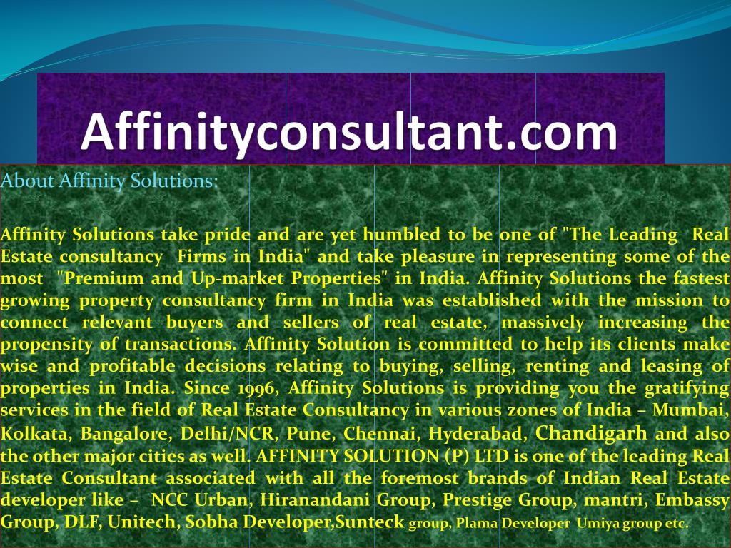 Affinityconsultant.com