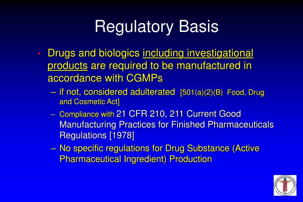 Drugs and biologics