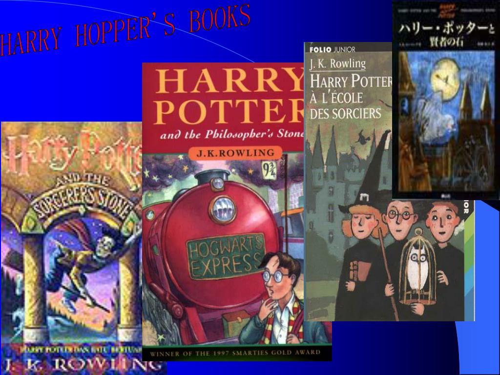HARRY HOPPER'S BOOKS