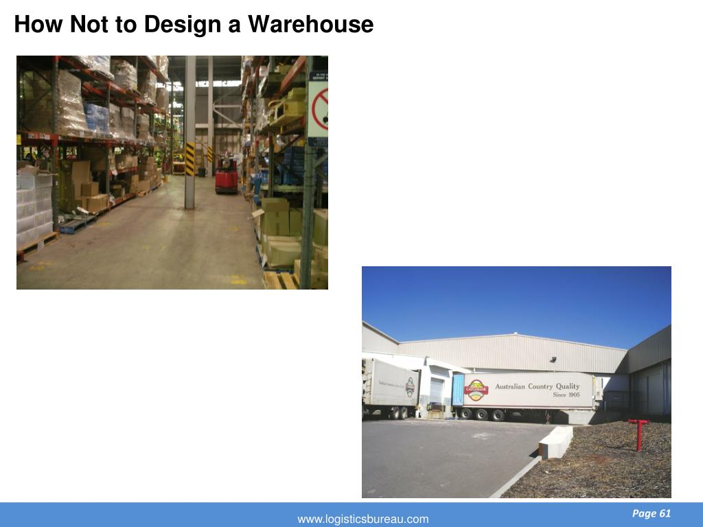 How Not to Design a Warehouse