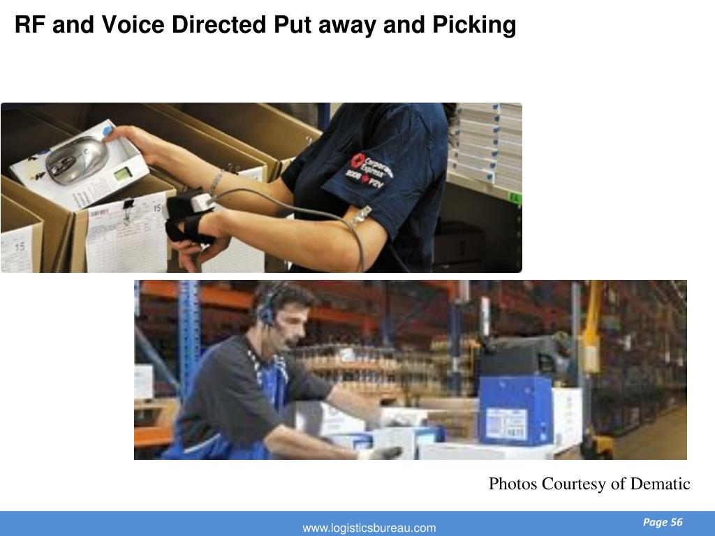 RF and Voice Directed Put away and Picking