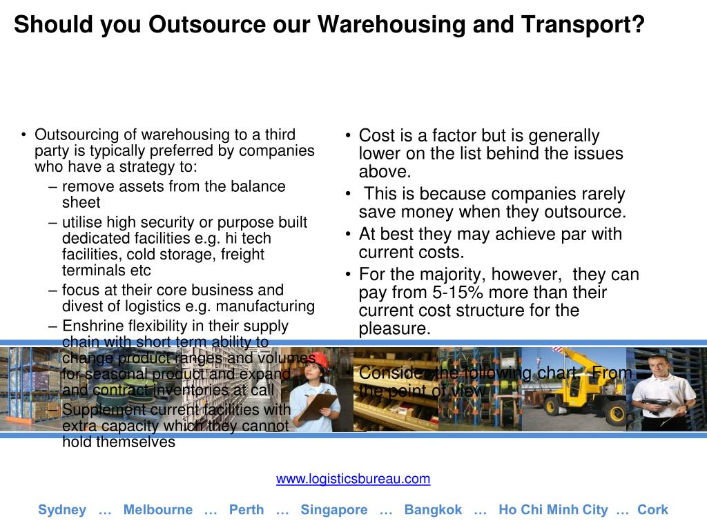 Should you Outsource our Warehousing and Transport?