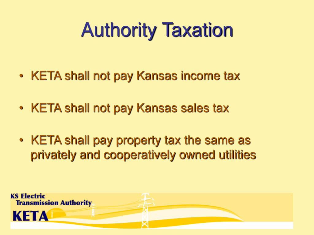 Authority Taxation