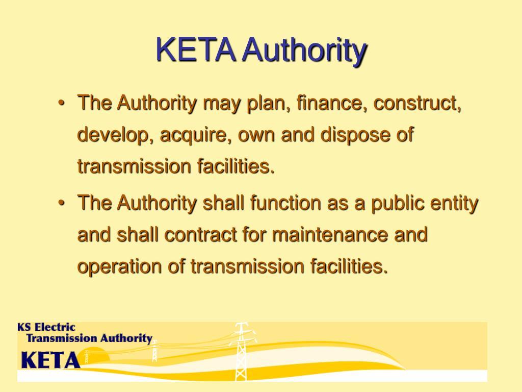 KETA Authority