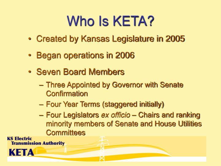 Who is keta