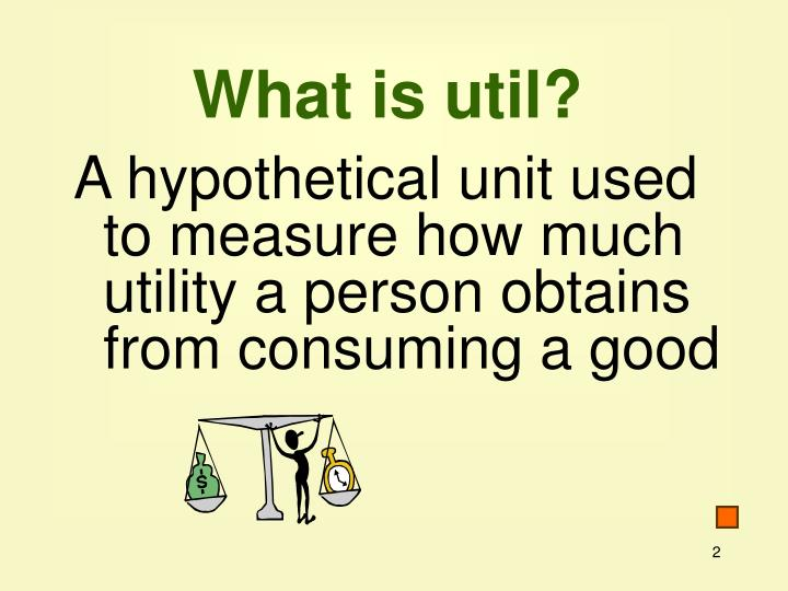 What is util