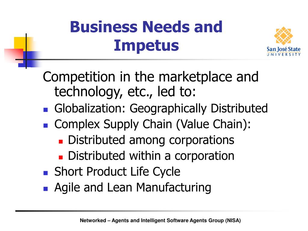 Business Needs and Impetus