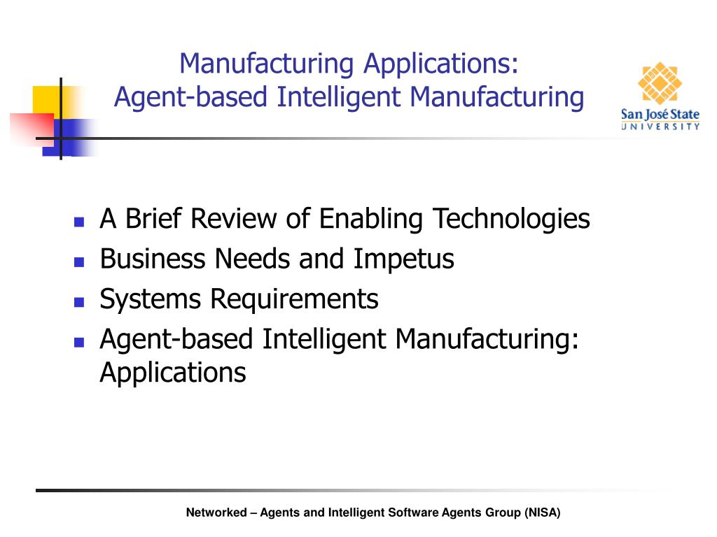 Manufacturing Applications: