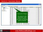 velocity 3 0 customization manager