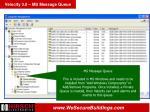 velocity 3 0 ms message queue