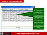 velocity 3 0 ms message queue74