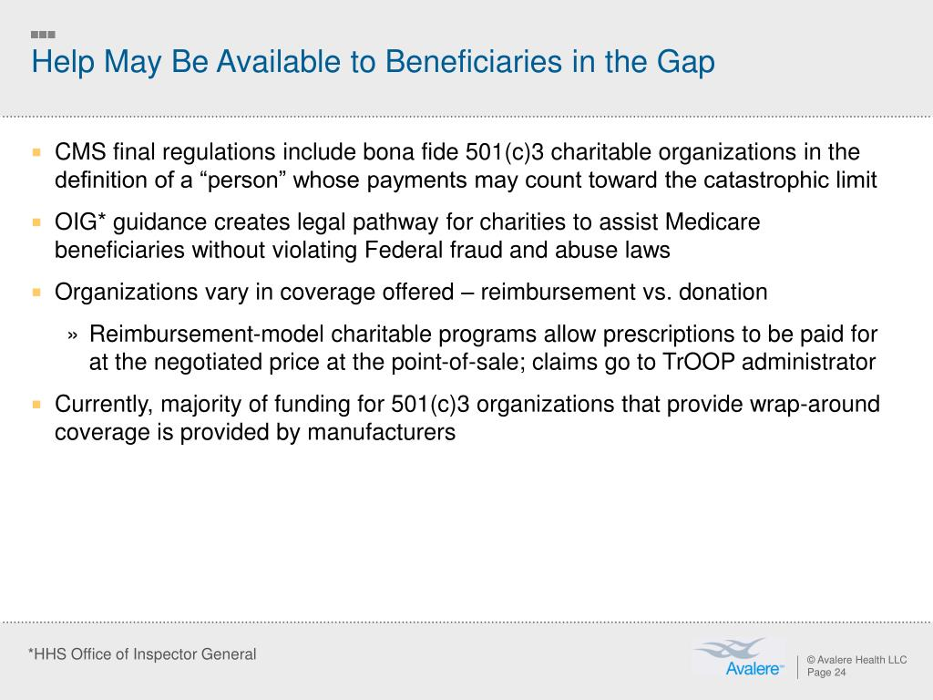 Help May Be Available to Beneficiaries in the Gap