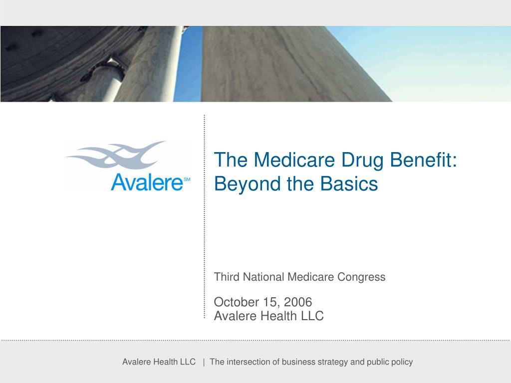 The Medicare Drug Benefit: