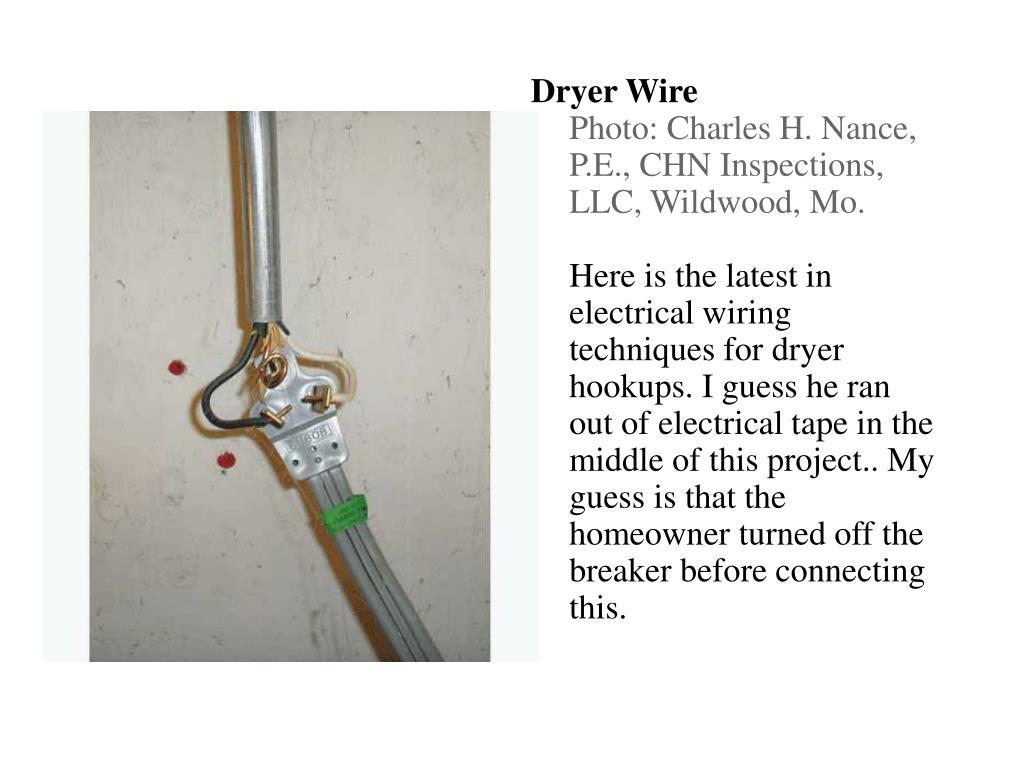Dryer Wire