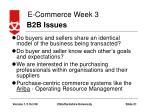 b2b issues