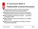 traditional edi vs internet procurement
