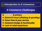 e commerce challenges