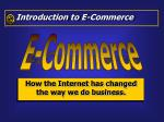 how the internet has changed the way we do business