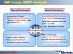 sap group swot analysis