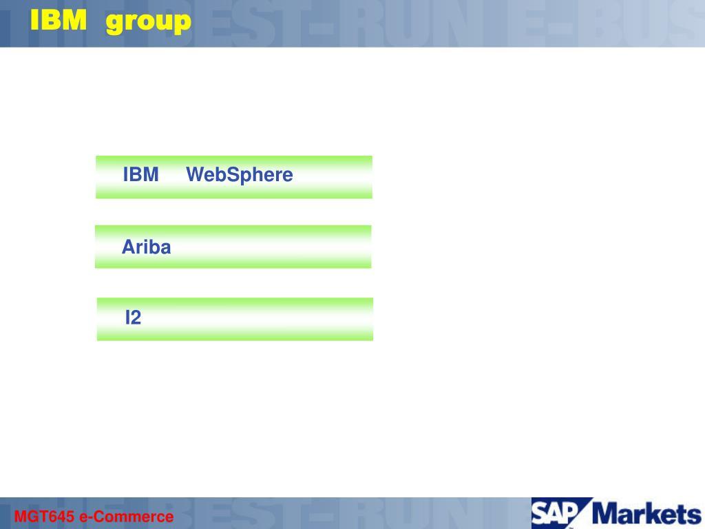 IBM  group