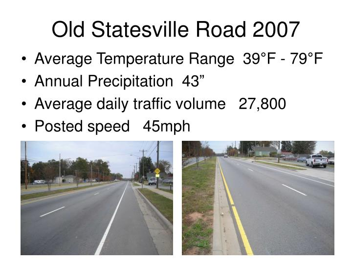 Old Statesville Road 2007