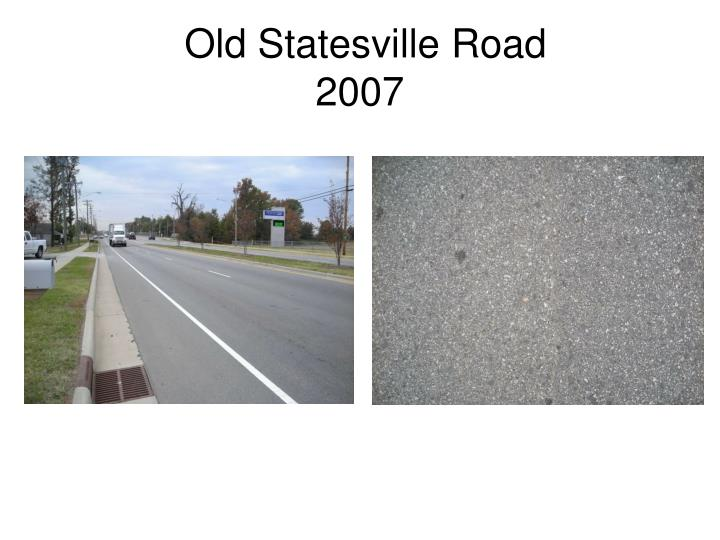 Old Statesville Road
