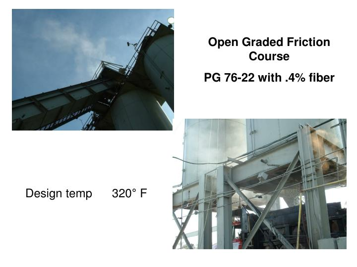 Open Graded Friction Course