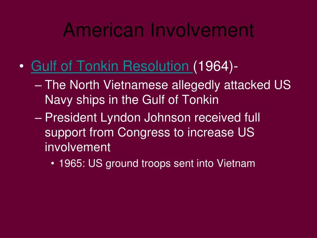 American Involvement