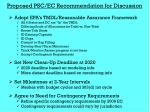 proposed psc ec recommendation for discussion