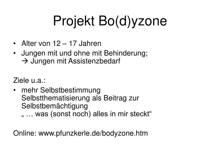 Projekt Bo(d)yzone