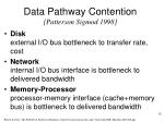data pathway contention patterson sigmod 1998