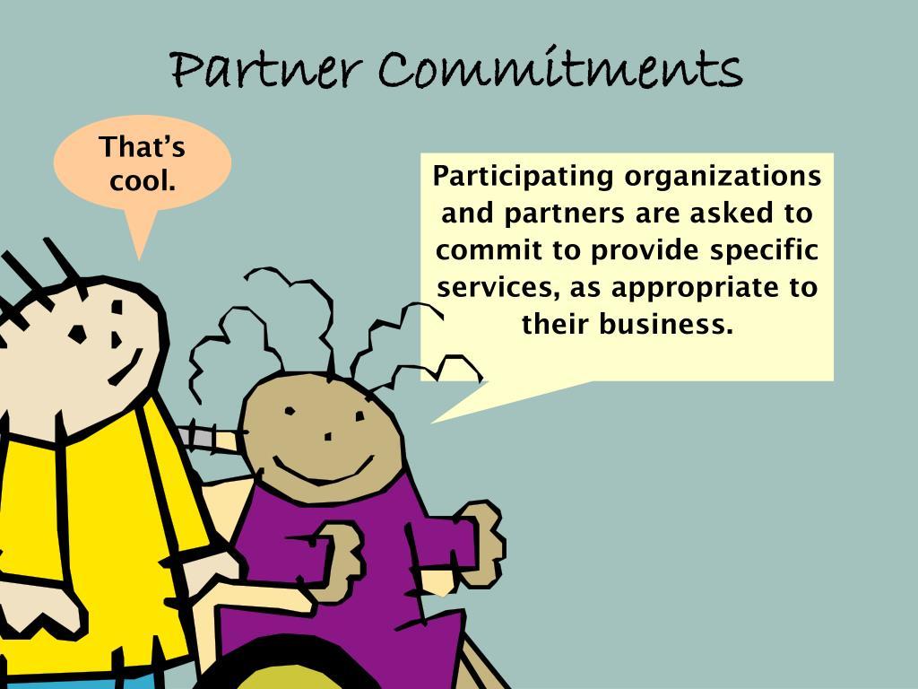 Partner Commitments