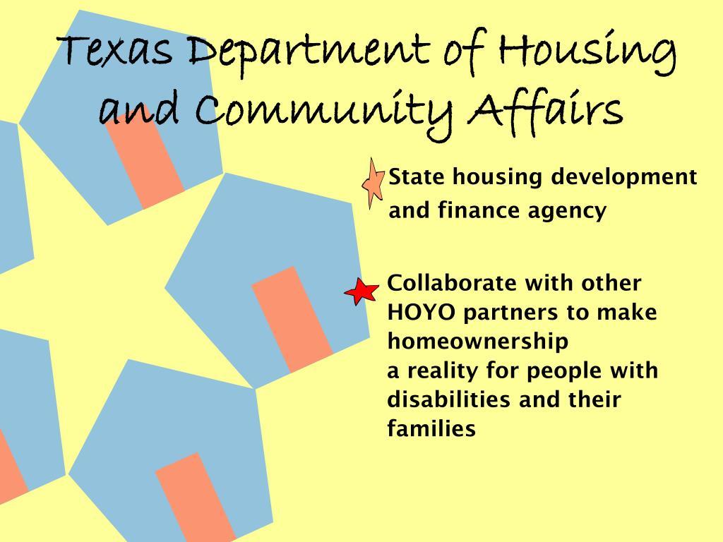 State housing development