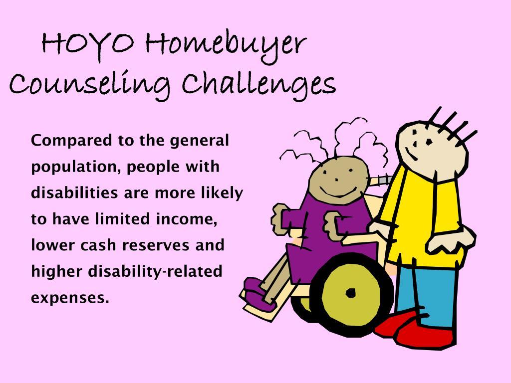 HOYO Homebuyer Counseling Challenges