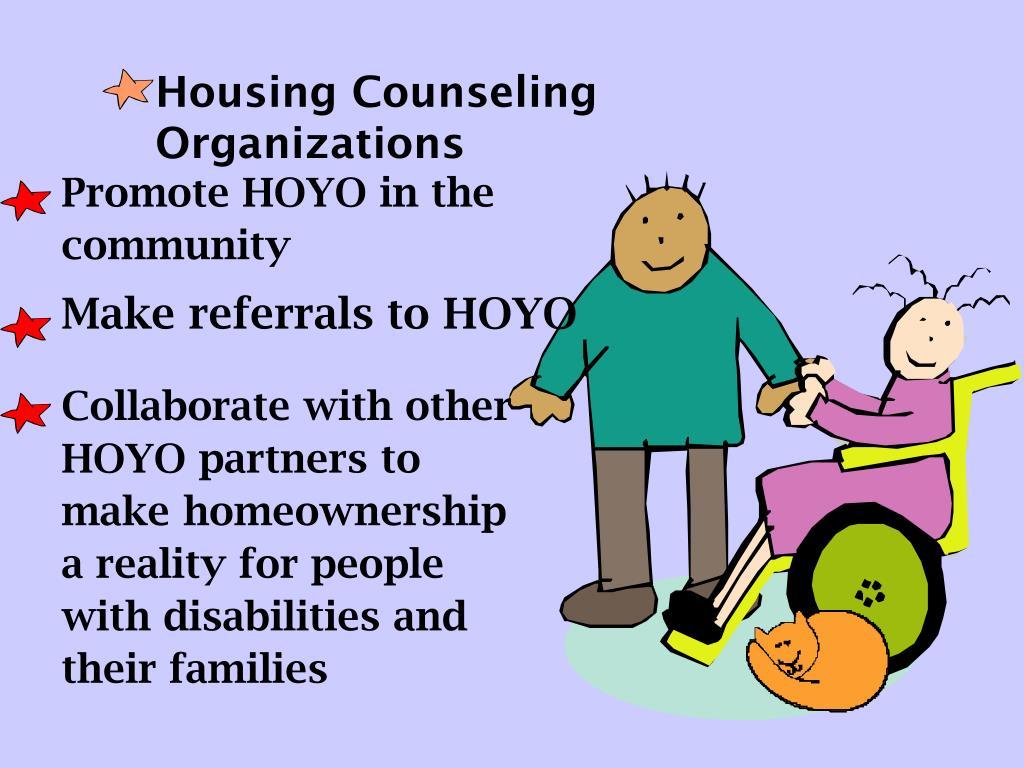 Make referrals to HOYO