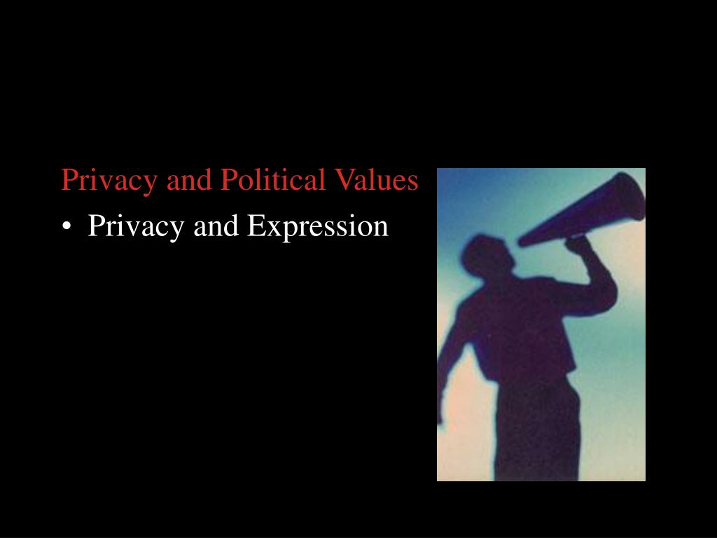 Privacy and Political Values