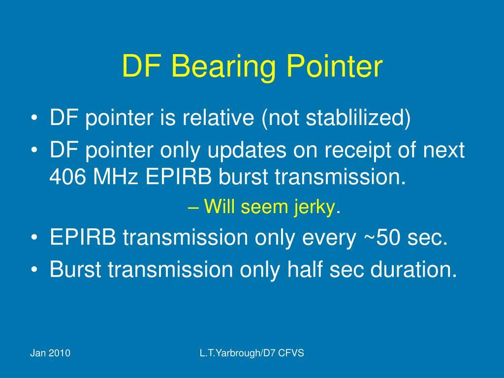 DF Bearing Pointer