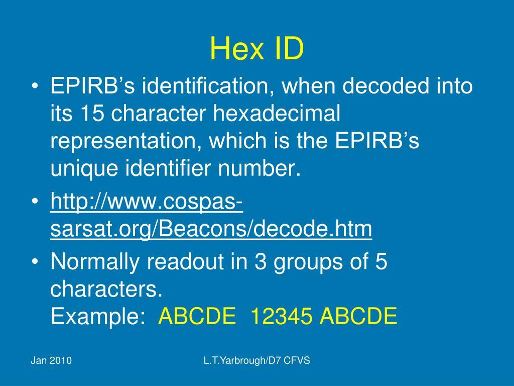 Hex ID