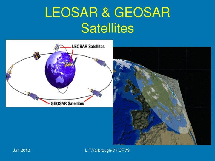 Leosar geosar satellites