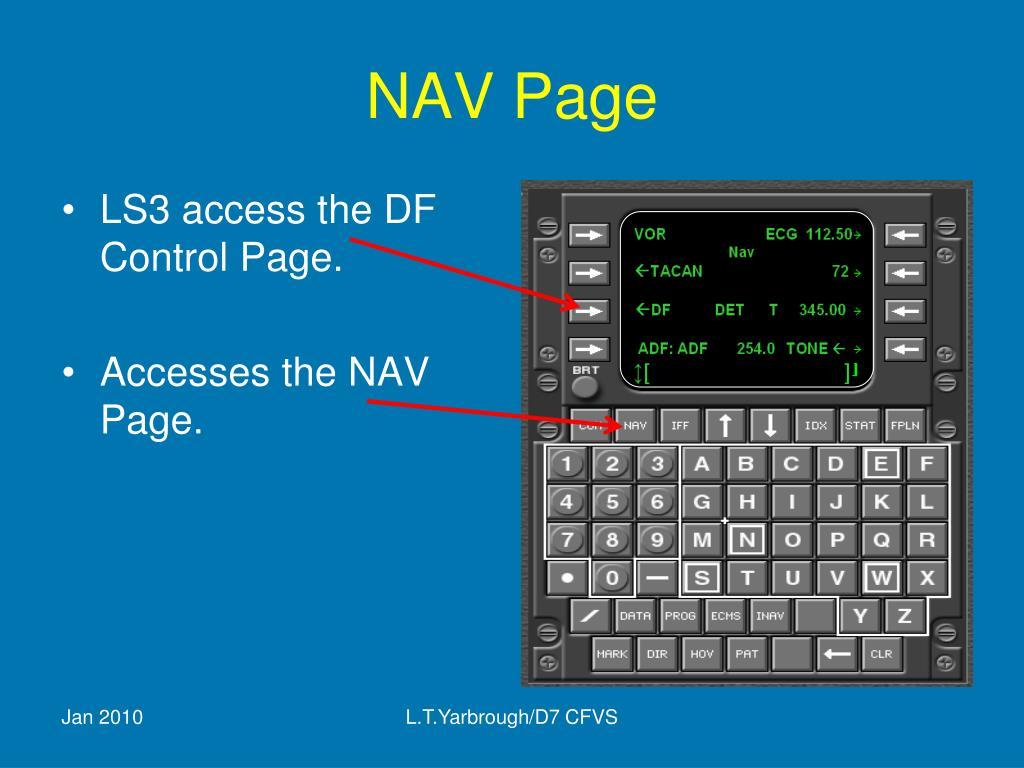 NAV Page