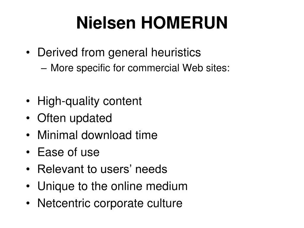 Nielsen HOMERUN