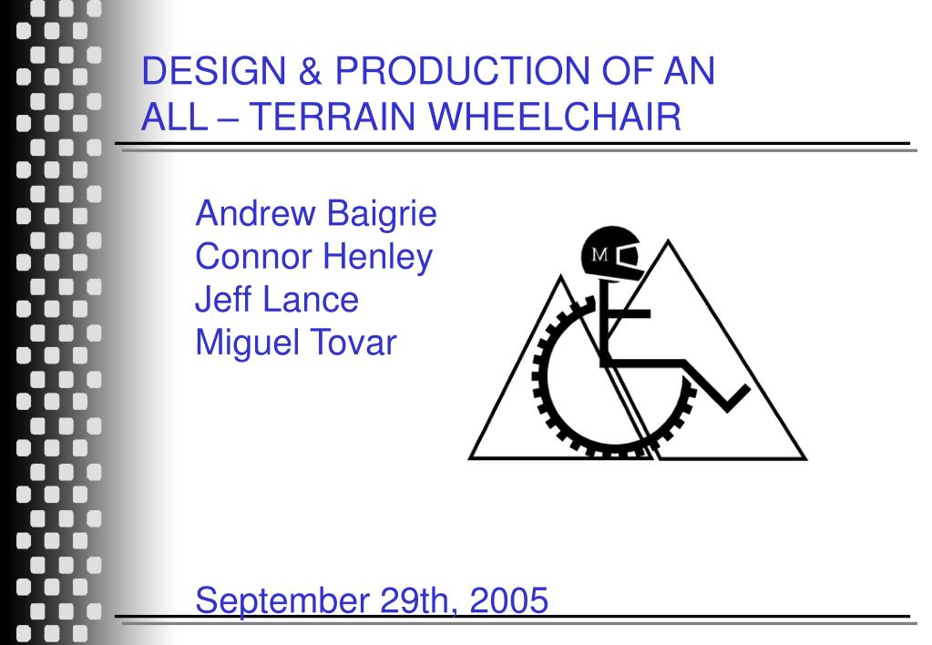 DESIGN & PRODUCTION OF AN