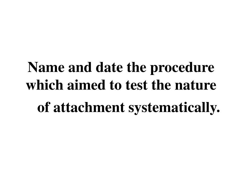 Name and date the procedure